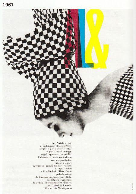 """Franco Grignani """" Grafica cinetica"""" 1961"""