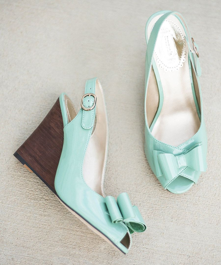 5fe76cca92cc3 Look at this Spring Green Valencia Wedge Sandal - Women on  zulily today!