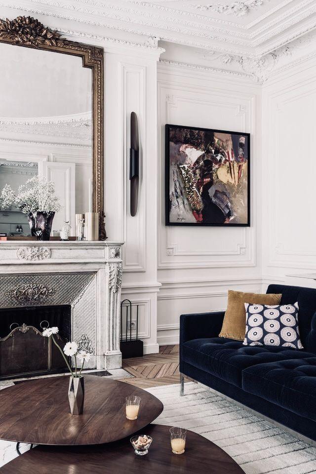 TAKE2T00   Woonkamer   Pinterest   Französischer spiegel, Pariser ...