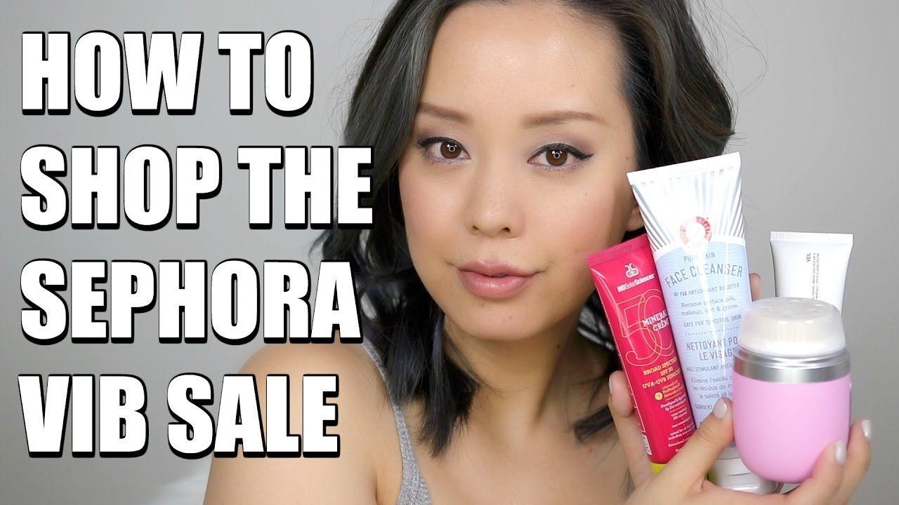 HOW TO SHOP SEPHORA VIB SALE