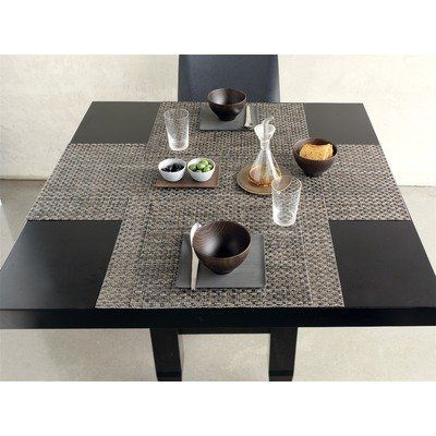 Chilewich Table Runner Kono Asphalt By 52 00 Dining Runners Linens