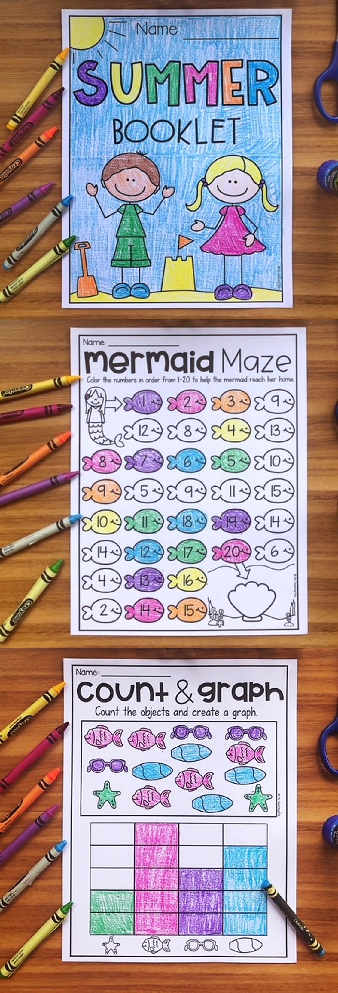 End Of Year Kindergarten Booklet