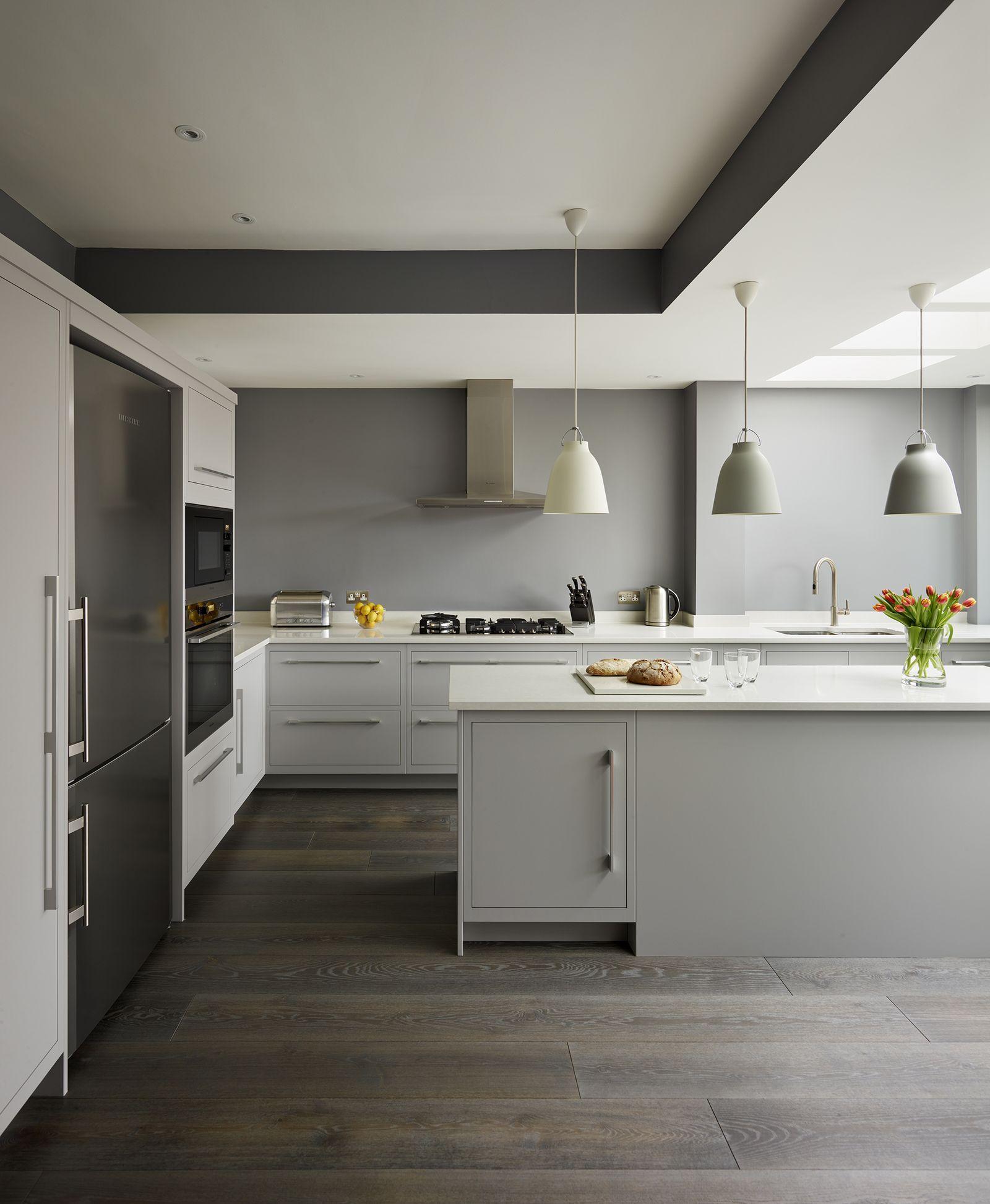 20 stunning dark kitchen ideas in 2020  contemporary grey