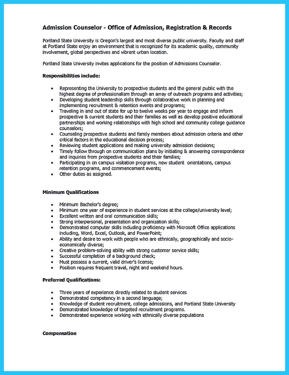 awesome Outstanding Counseling Resume Examples to Get ...