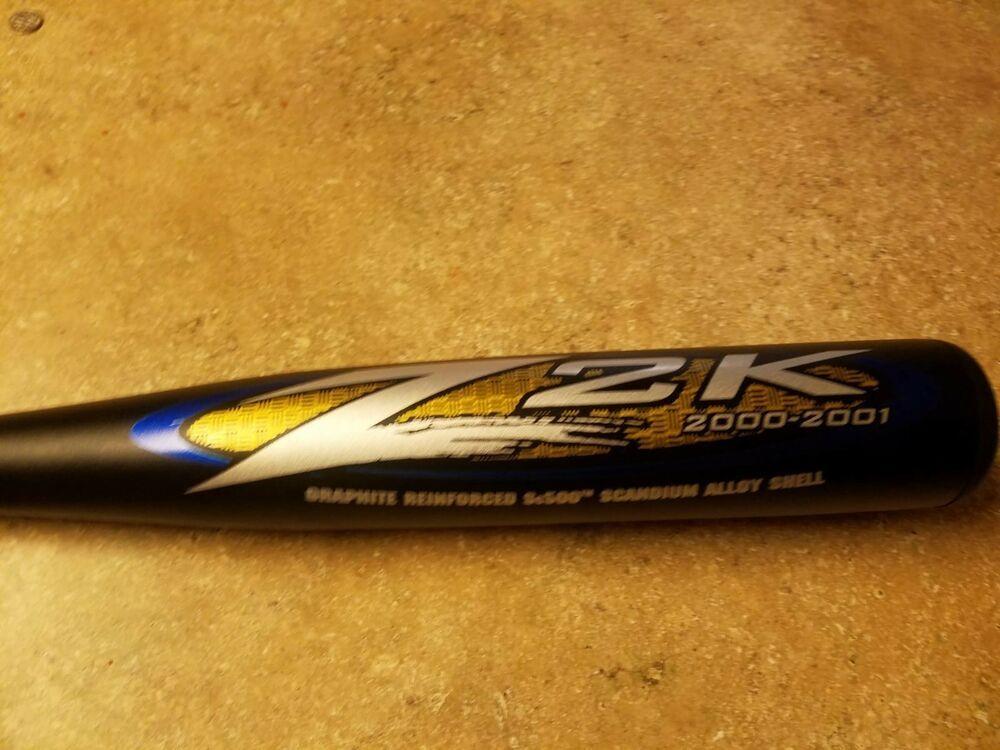 Ebay Sponsored New Rare Easton Z2k Zcore 34 29 2 3 4 Baseball Bat 5 Bz2 K Z 2000 2001rare Baseball Bat Baseball Bat