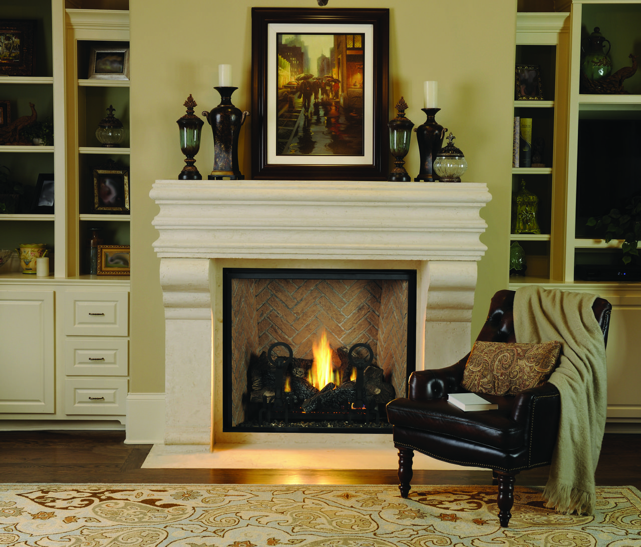 """Astria Montebello DLX 40"""" or 45"""" Direct Vent Fireplace ... on Embers Fireplaces & Outdoor Living id=94325"""