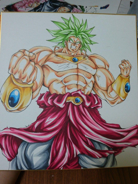 Dessin densetsu no super saiyajin broly couleur sva xlzl7wcuky37e5f twitter - Dessin de dragon ball super ...
