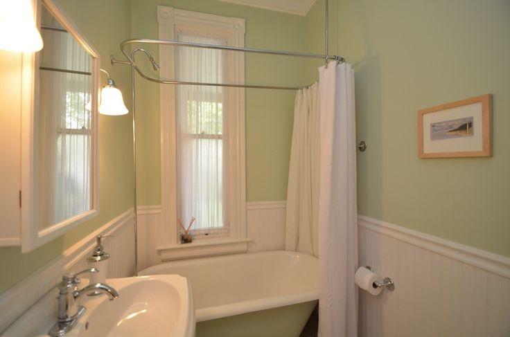 wrap around shower curtain rod   Google Search   Shower curtain