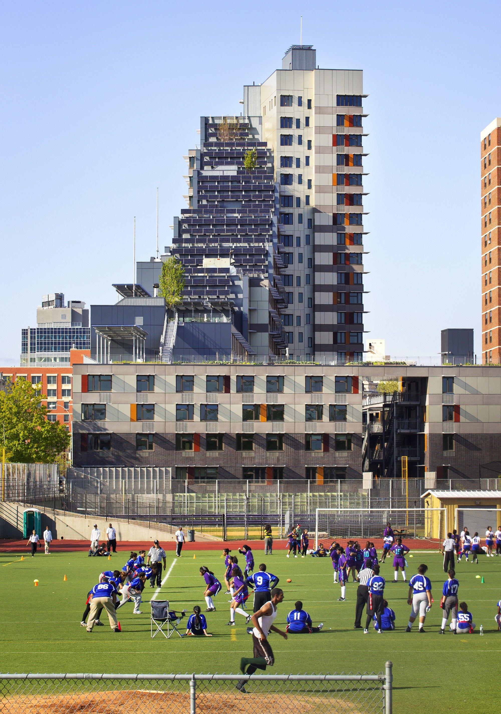 Gallery Of Via Verde Grimshaw Dattner Architects 14 Affordable Housing Architect Urban Heat Island