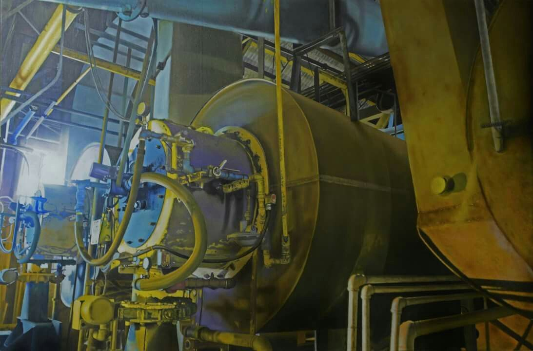 Jan nelson art and industry painting pinterest nelson fc