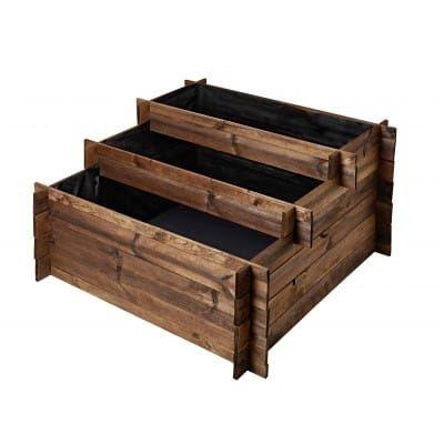 Carré potager OLG Evia brun (Carré potage Déco, meubles  futur
