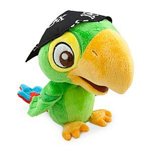 Disney Skully Talking Plush - Jake and the Never Land Pirates | Disney StoreSkully Talking Plush - Jake and the Never Land Pirates - They'll parrot fun pirate play, day after day with our Talking Skully plush toy. Press Skully's claw to see animated movement and hear 25 phrases familiar to viewers of the hit TV series, Jake and the Never Land Pirates.