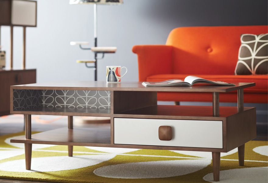 Orla Kiely New Retro Furniture Collection