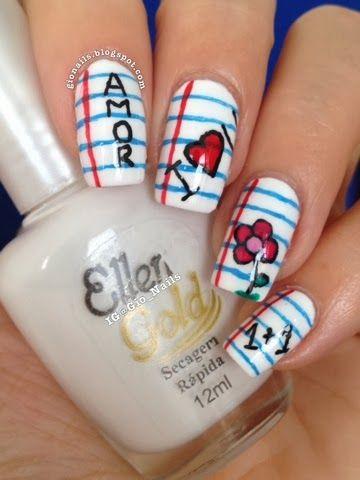 GioNails: Tutorial School Nails