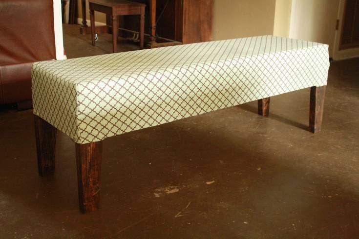 Knocked Off: Upholstered Bench | Killer b.