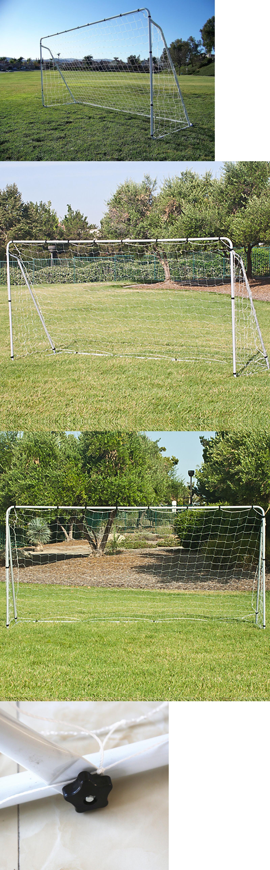goals and nets 159180 soccer goal 12 x 6 football w net straps