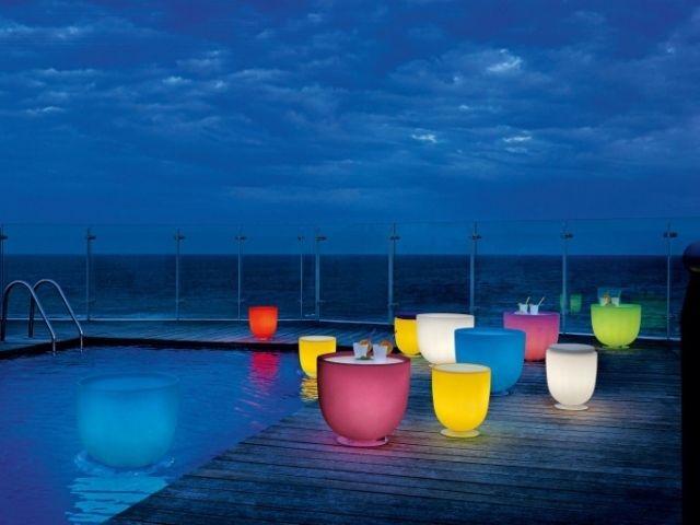 garten-terrassenmöbel-solar-leuchtend-modern-kabellose-deck, Garten Ideen