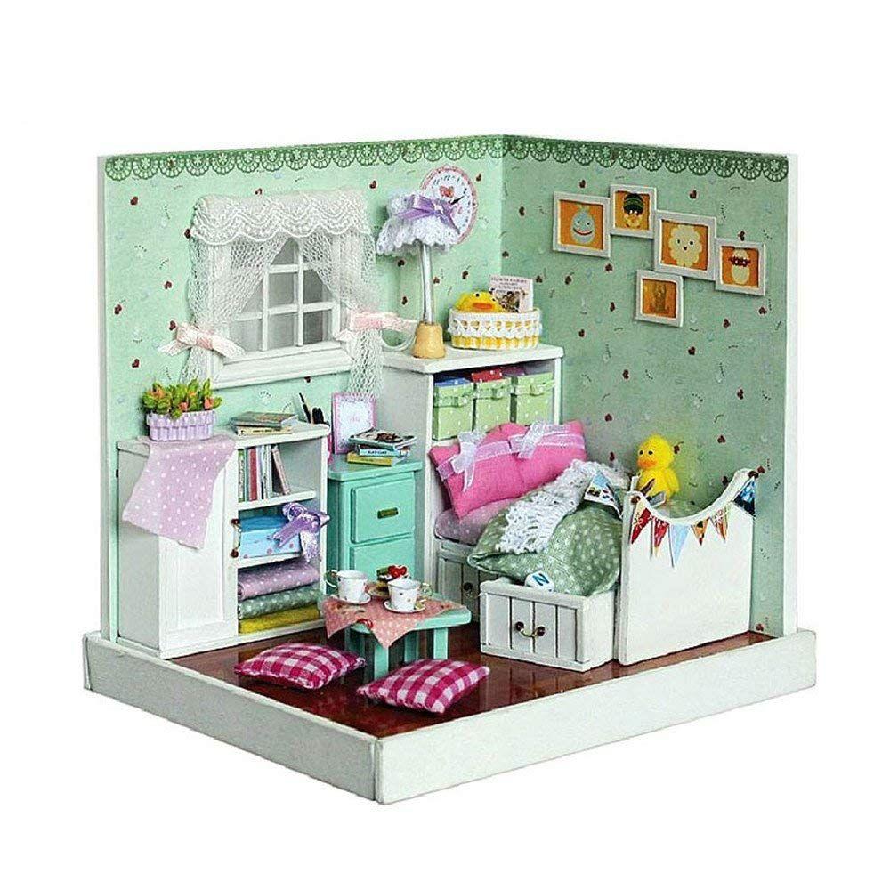 Amazon.com: Flever Dollhouse Miniature DIY House Kit