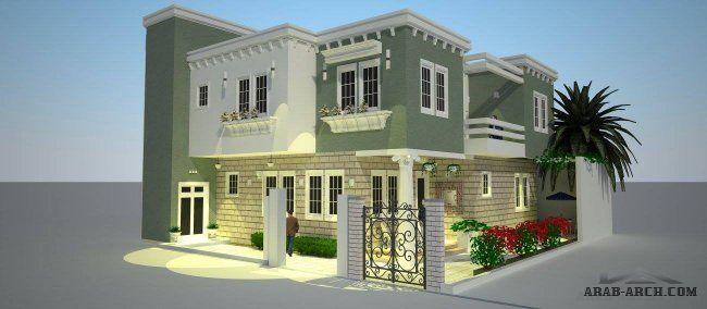 الواجهات صفحة 22 House Styles House Design Design