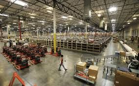 Amazon Takes order from all around the world and purchases from various suppliers then re sell to customers.