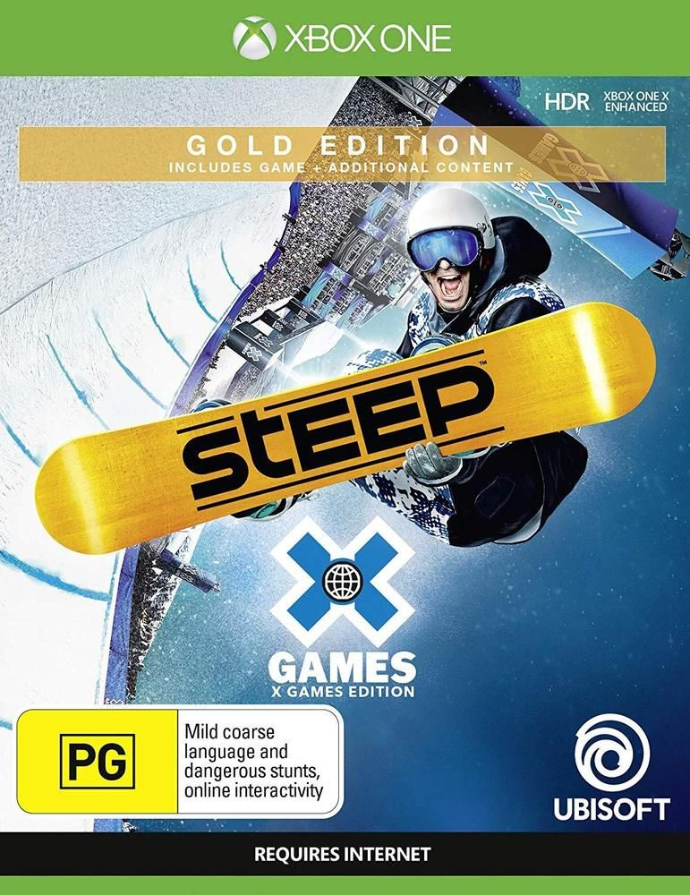 Steep X Games Gold Edition Snowboarding Skiing 8 Sports