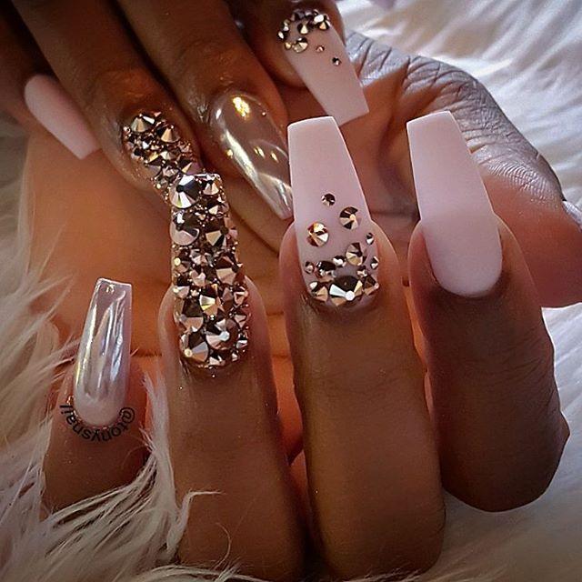 Custom Nails Design Allpowder By Tonysnail