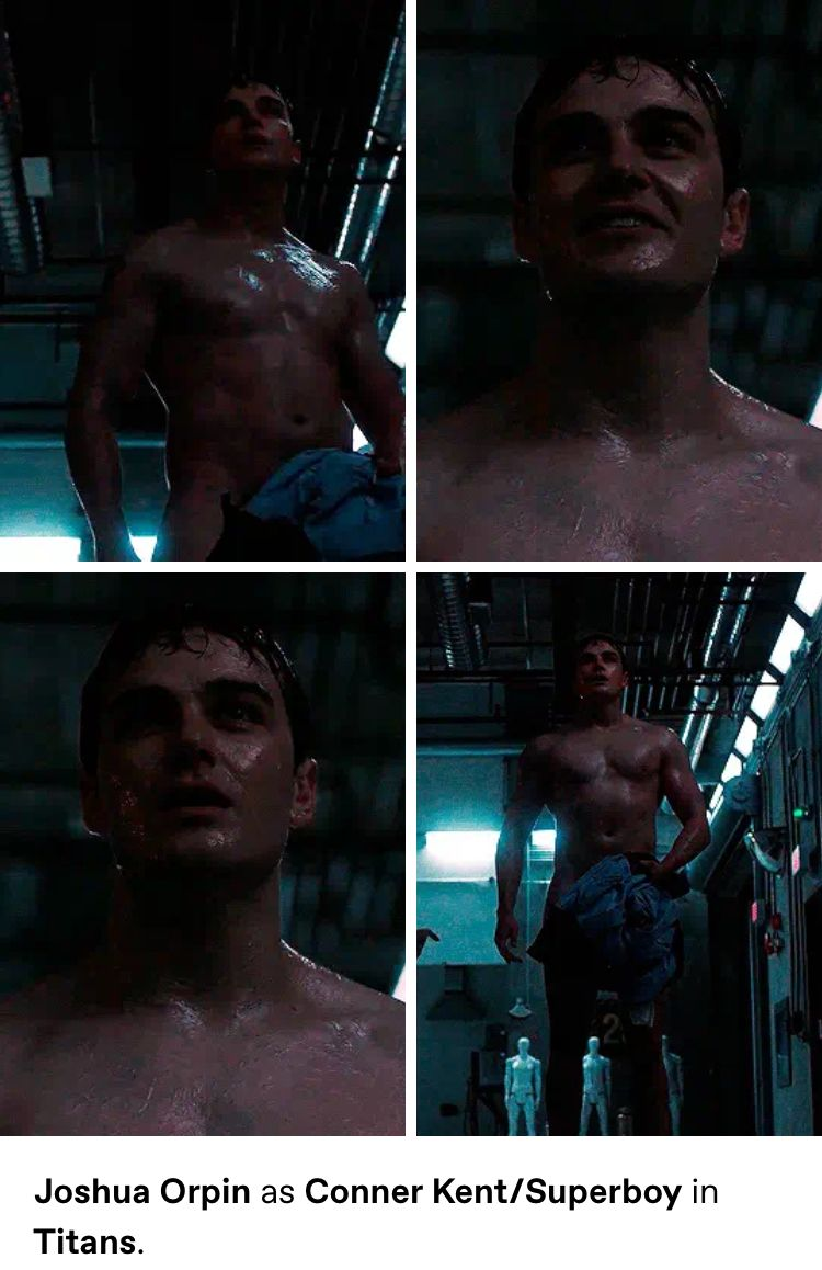 Joshua Orpin As Conner Kent Superboy In Titans In 2020 Joshua Hottest Male Celebrities Dc Comics Doğum tarihi 15 nisan 1994. joshua orpin as conner kent superboy in