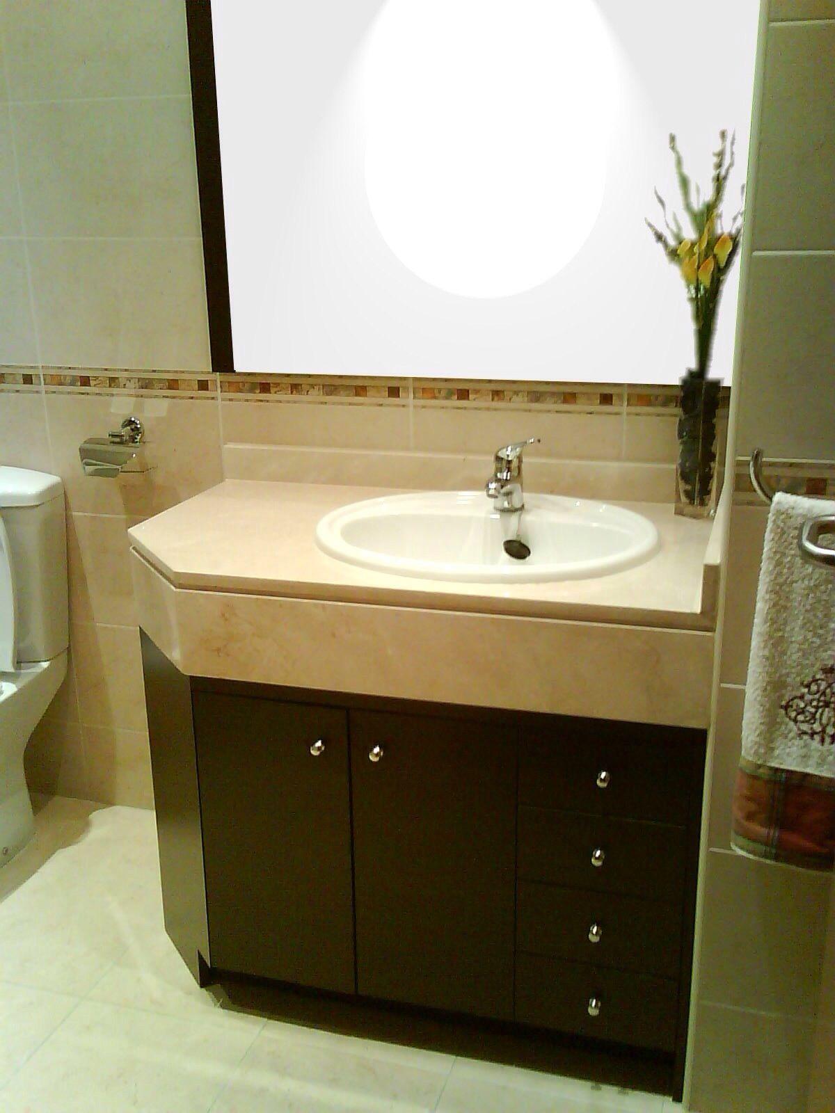 Mueble de baño a medida bajoencimera home pinterest
