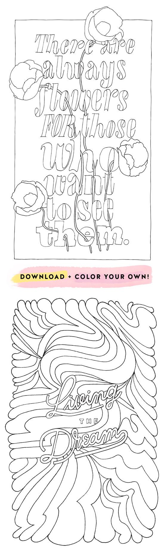 COLORING POSTERS PT. 2