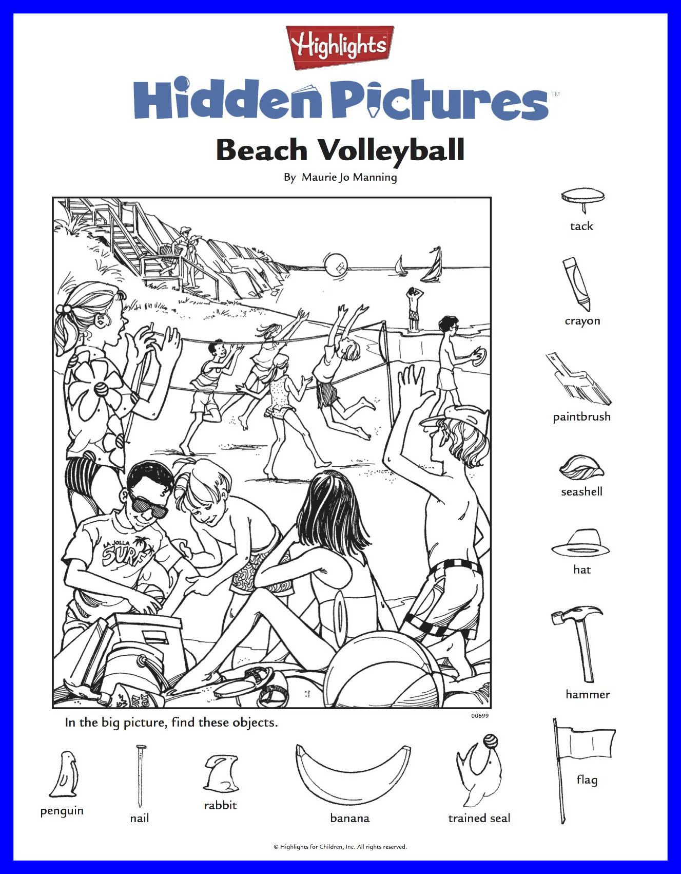 Highlights Hidden Pictures Printable Worksheets Awesome