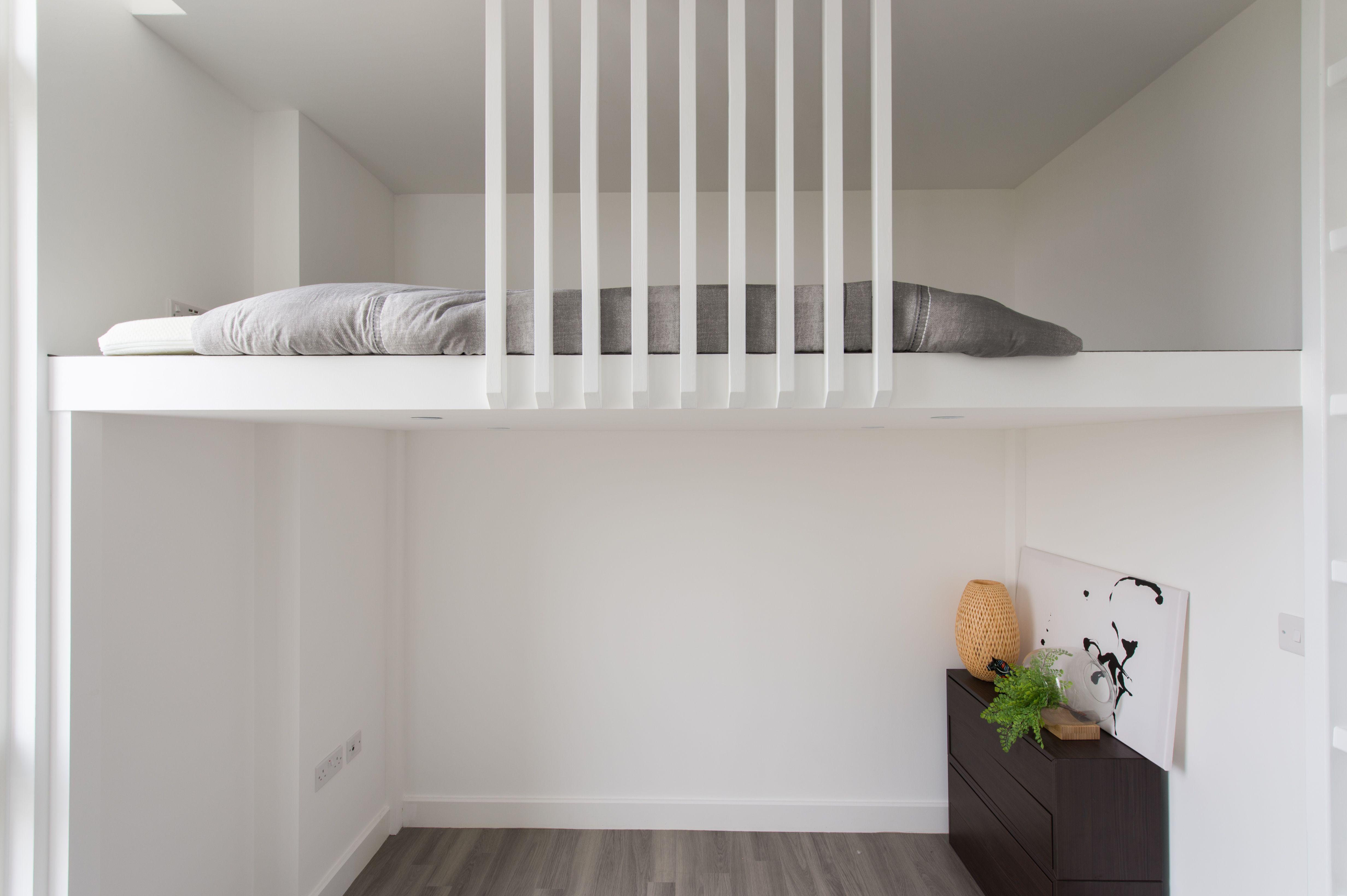 Scandinavian Loft, Bespoke design, Compact living, Mezzanine Loft ...