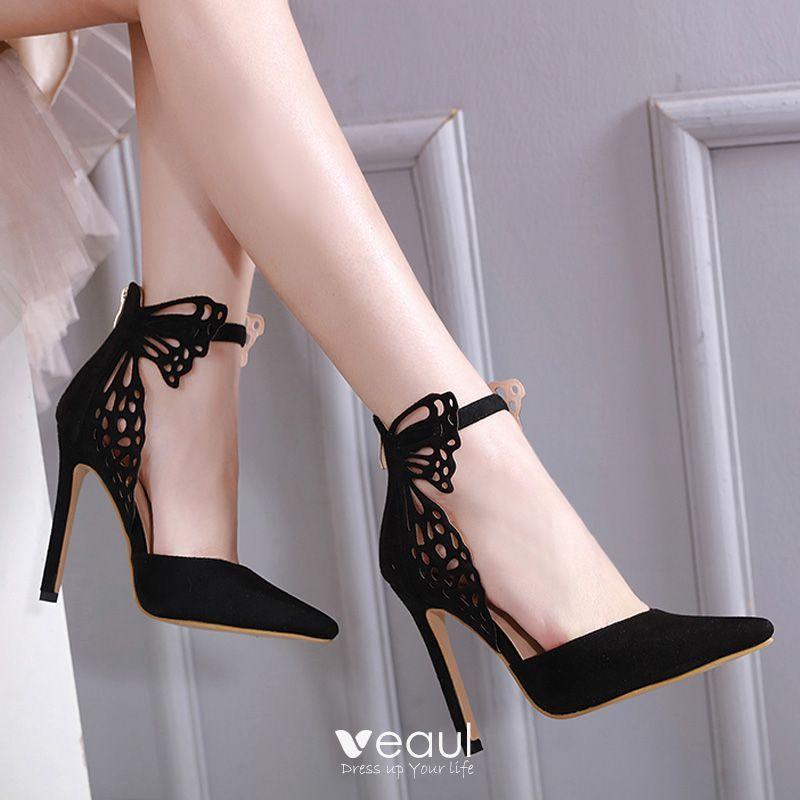 cm Stiletto Heels Pointed Toe