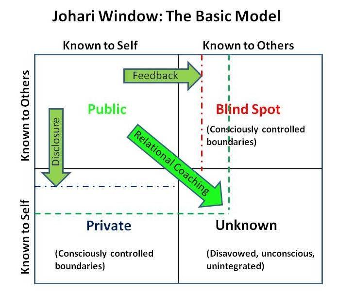 Johari Window | Visual OD Models | Pinterest | Window, Psychology ...