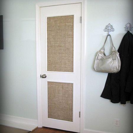Hereu0027s a quick and easy DIY option to dress up a plain interior door. Use & Hereu0027s a quick and easy DIY option to dress up a plain interior ... pezcame.com