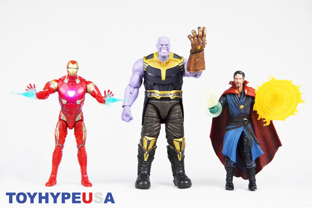Thanos Marvel Toybox Action Figure Avengers Infinity guerre Disney Store Exclusive