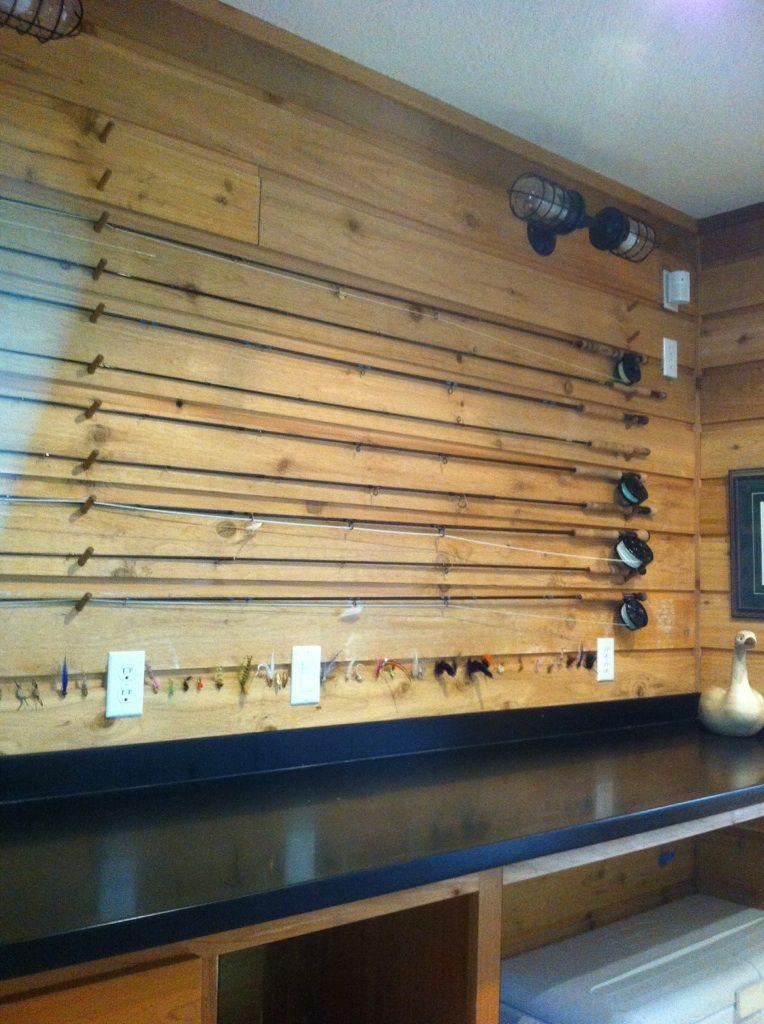 Fly fishing interior design google search fly fishing for Racks fish house