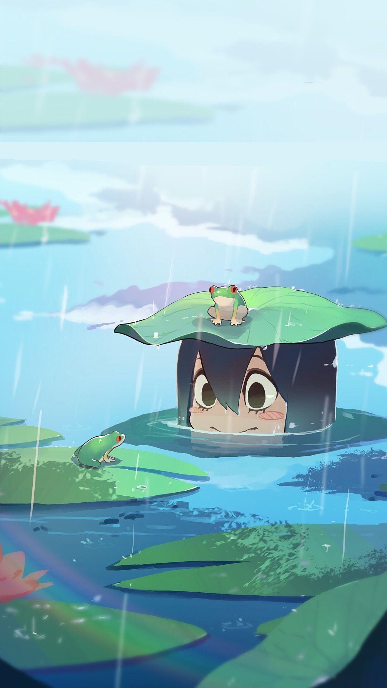 Boku No Hero Academia Tsu tsu!! 💗✨ | hero wallpaper, anime, wallpaper pc