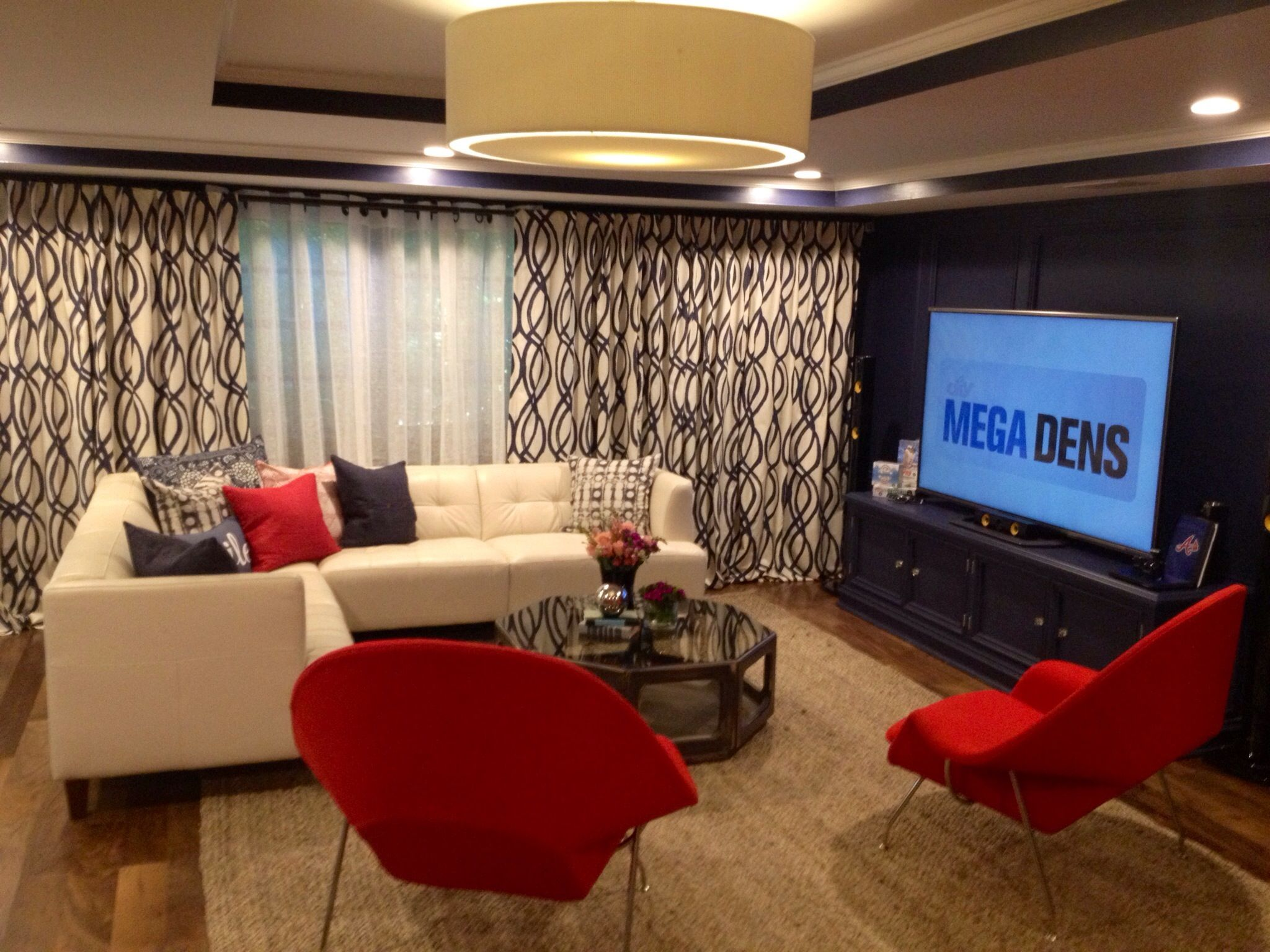 Mlb Atlanta Braves Themed Megaden On Diynetwork Home Home Decor Room