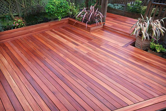 Lyptus Hardwood Decking Deck Garden Building A Deck