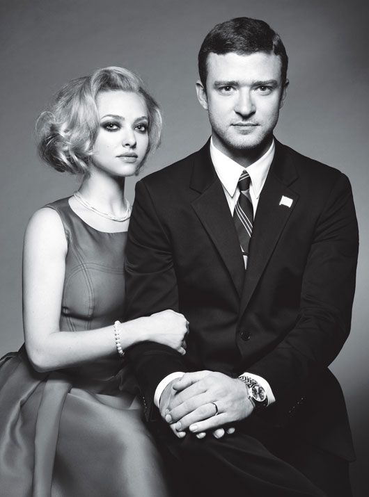 Yes They Can! Justin Timberlake and Amanda Seyfried channel the zeitgeist as the picture-perfect political couple. - W mag oct 2011