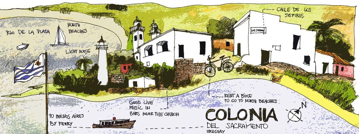 Colonia Del Sacramento Uruguay By Juan Martín Rojas Travel Infographic Travel Colonia