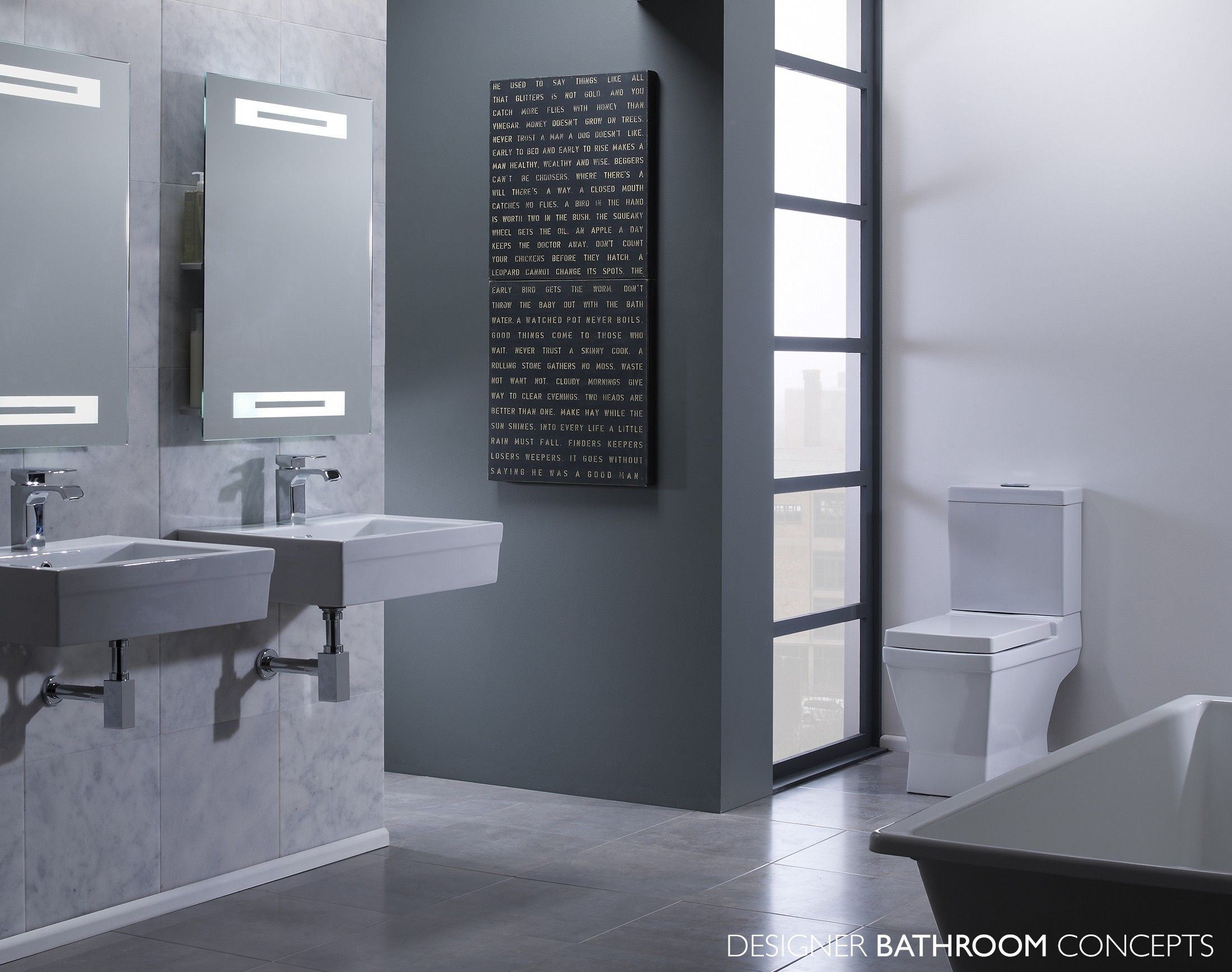 Finesse Designer Bathroom Suites From DesignerBathroomConceptscom - Designer bathroom suites