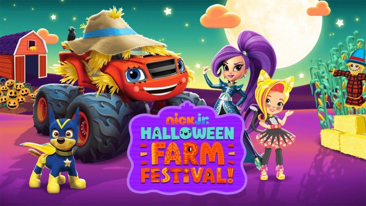 Nick Jr. Halloween Farm Festival - Nick Jr. Games.   Nick Jr. Games ...