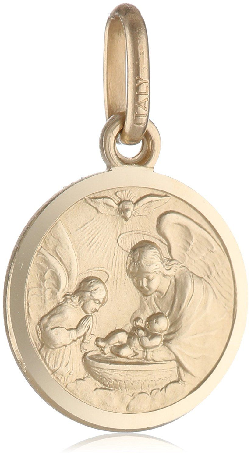 K yellow gold baptism medal u x u for more information