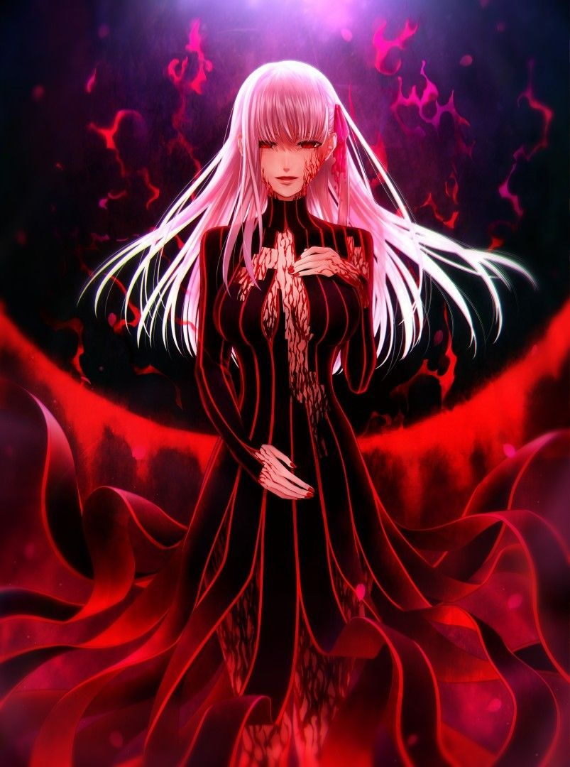Sakura Dark Fate Grand Order Dark Sakura Sakura Alter Matou Sakura Fgo Fsn Fate Anime Fate Stay Night Sakura Fate Anime Series Type Moon Anime