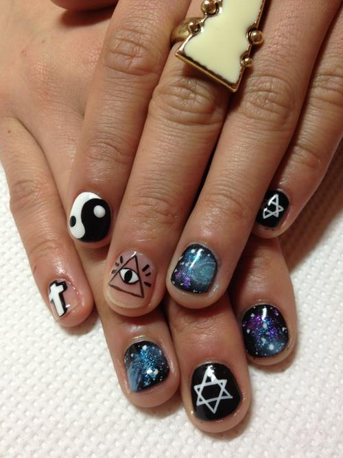 Hipster nails?lol dk
