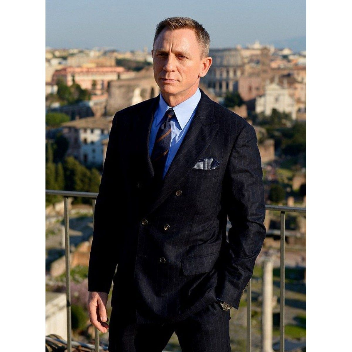 James Bond Double Breasted Spectre Pinstripe Suit | James Bond ...