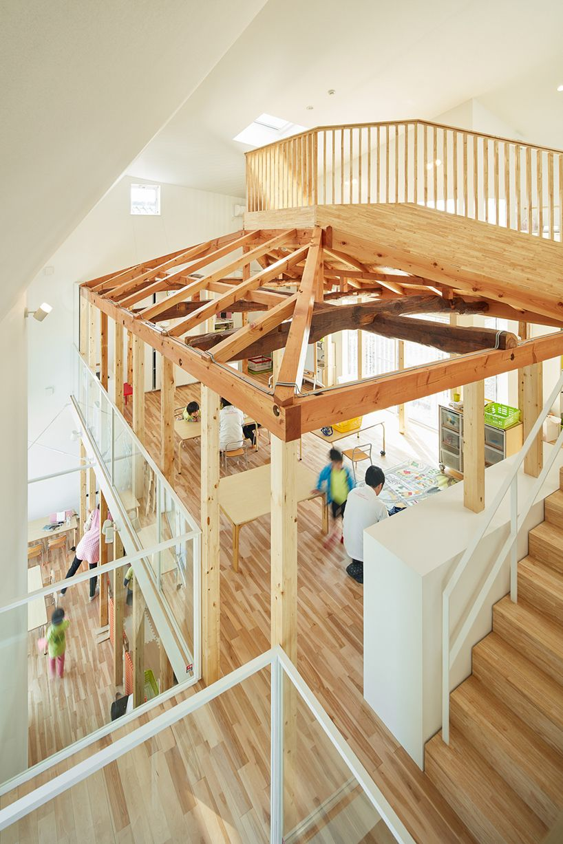 MAD architects completes clover house kindergarten in japan ...