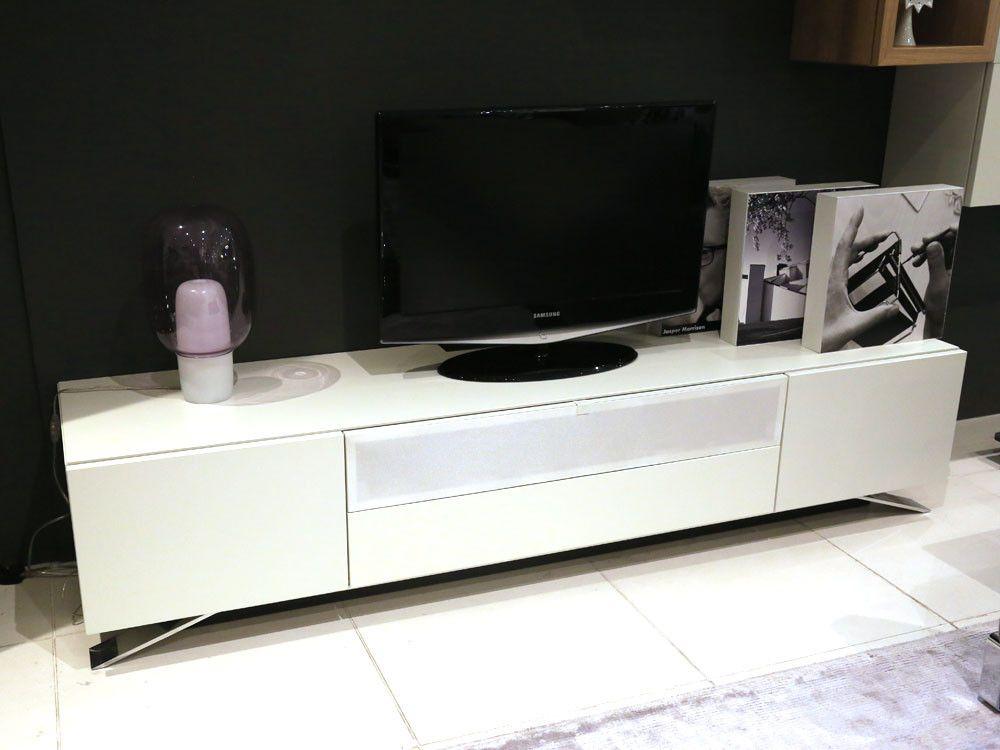 Hulsta Nexo TV Stand - White Lacquer - Chaplins Living Room - hülsta möbel wohnzimmer