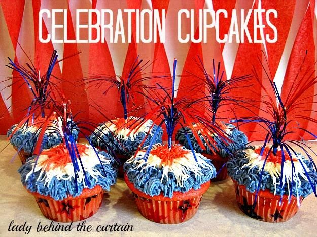 How To Make Celebration Cupcakes!
